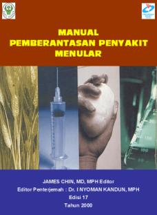 Manual Pemberantasan Penyakit Menular